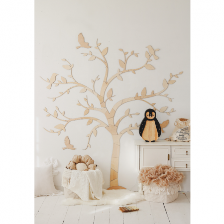 TRE - vegg dekor