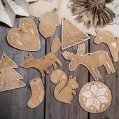 Vår julepakke kan brukes som julepynt både på juletre, julesfestbordet eller på barnerommet 💫🎄www.annamor.no . foto @littlemiphotography