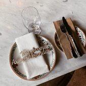 Som vi ser frem til de neste månedene med gjenåpning. Vi er klar for å levere våre flotte bordkort og annen bordpynt til din neste fest! 🥳www.annamor.no . Tusen takk for nydelig bilde @amaliegloppen 🥰